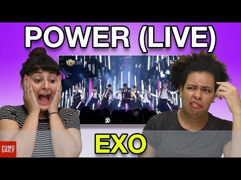 """EXO """"Power LIVE on SBS Inkigayo"""" • Fomo Daily Reacts"""