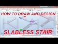 HOW TO DESIGN SLABLESS STAIR - AUTODESK ROBOT 2016 TUTORIALS