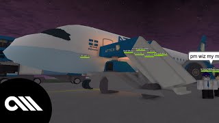 [ROBLOX] Air Attica Flight! Gone Wrong?! [HD]