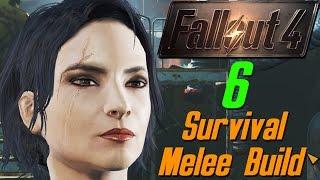 Fallout 4 6 - Убежище 75 - детский рай survival melee webcam