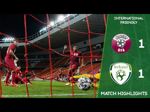 HIGHLIGHTS | Qatar 1-1 Ireland - International Friendly