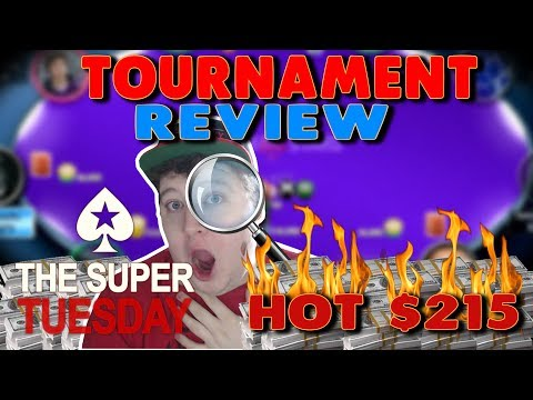 $63,000 Super Tuesday Poker Tournament Review [Part 2]