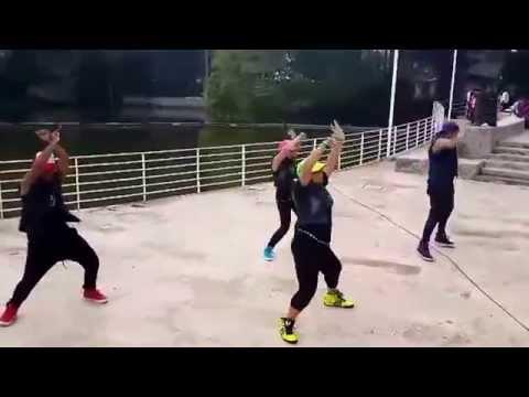 """Zumba con stylo"" dance forever #yohagozumbaconalgarabia 1er lugar"
