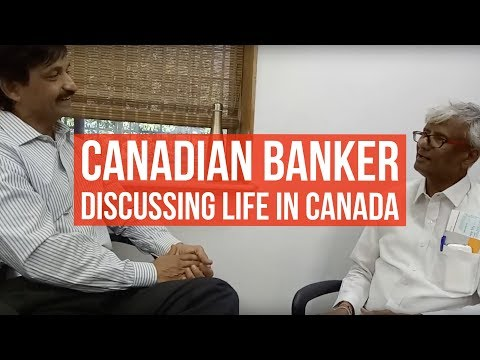 Ravindra, A Canadian Banking Manager Describing Life In Canada To Manoj Palwe