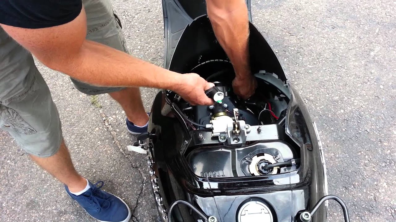 My Scooter Has No Spark How To Fix Gy6 Chinese 139qmb 2002 Yamaha Viper Wiring Diagram Qmb139 50cc 150cc Youtube