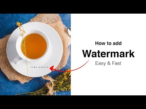 Best Watermark App For Android - How To Add Watermark To Multiple Photos On Android !