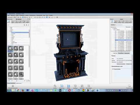 Рендер и просмотр 3D моделей в формате Stl и Obj. CNC-Profi