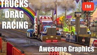 Big Rig Racing 2020 Bobtail Truck Drag Racing Android iOS Game