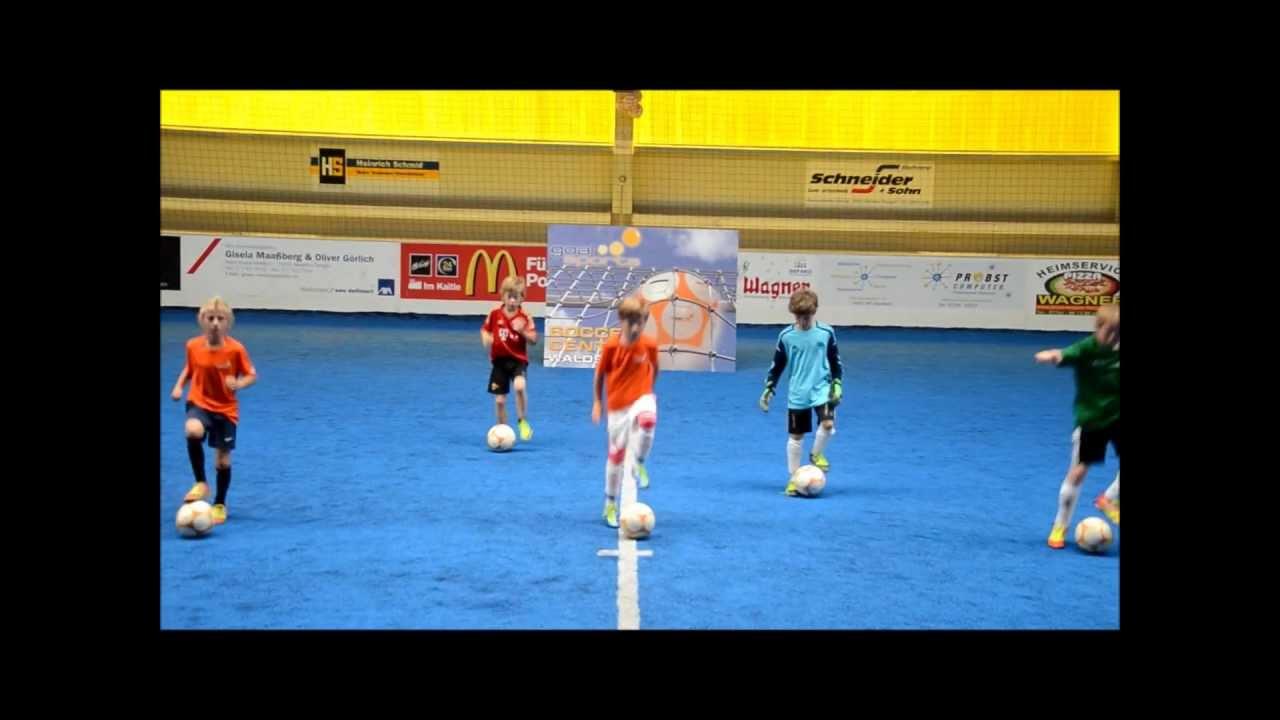 F Junioren E Junioren Goalsports Fussballschule Ballhandling Skills