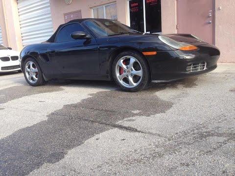 Car review: My 2001 Porsche Boxster