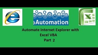 Automate Internet explorer with Excel VBA Part 2