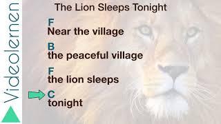 The Lion Sleeps Tonight Guitar Tutorial