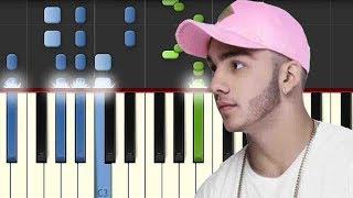 Una Lady Como Tu / Manuel Turizo / Piano Tutorial / Notas Musicales