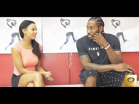 Drea Avent interviews NBA Superstar Kawhi Leonard