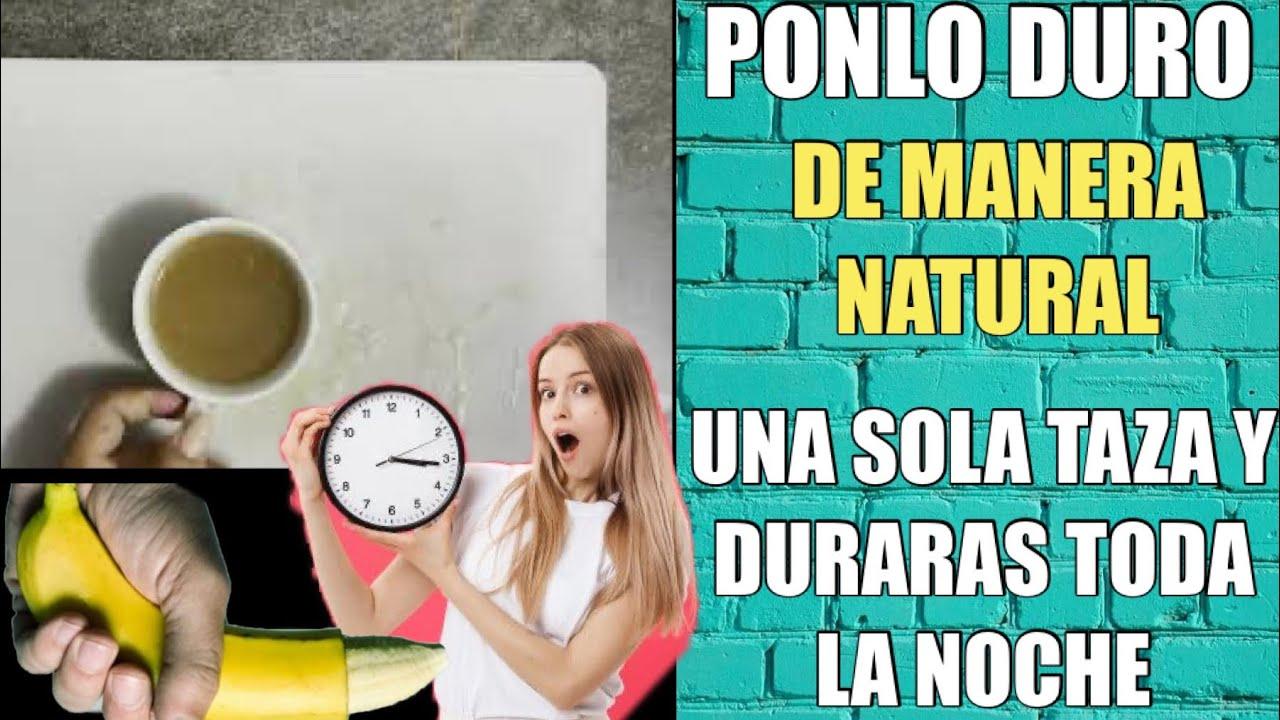V1AGRA NATURAL !! UN VASO DE ESTE TÉ Y LO MANTENDRAS PARADO LA NOCHE COMPLETA