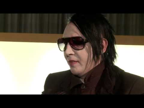 Marilyn Manson Interviewed By Kunsthalle Wien [2010] Part 1.