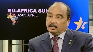 Mauritanian President: Europe must see Africa in a new light
