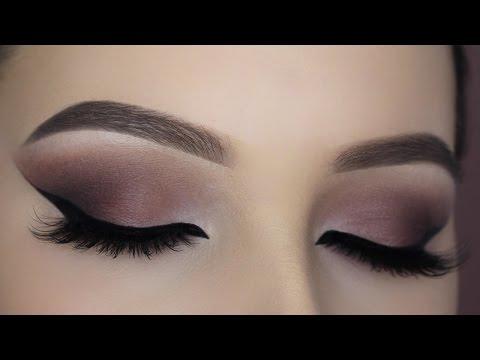 Burgundy Smokey Eye Makeup Tutorial