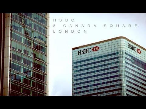 Tour of HSBC headquarters, Canary Wharf, London