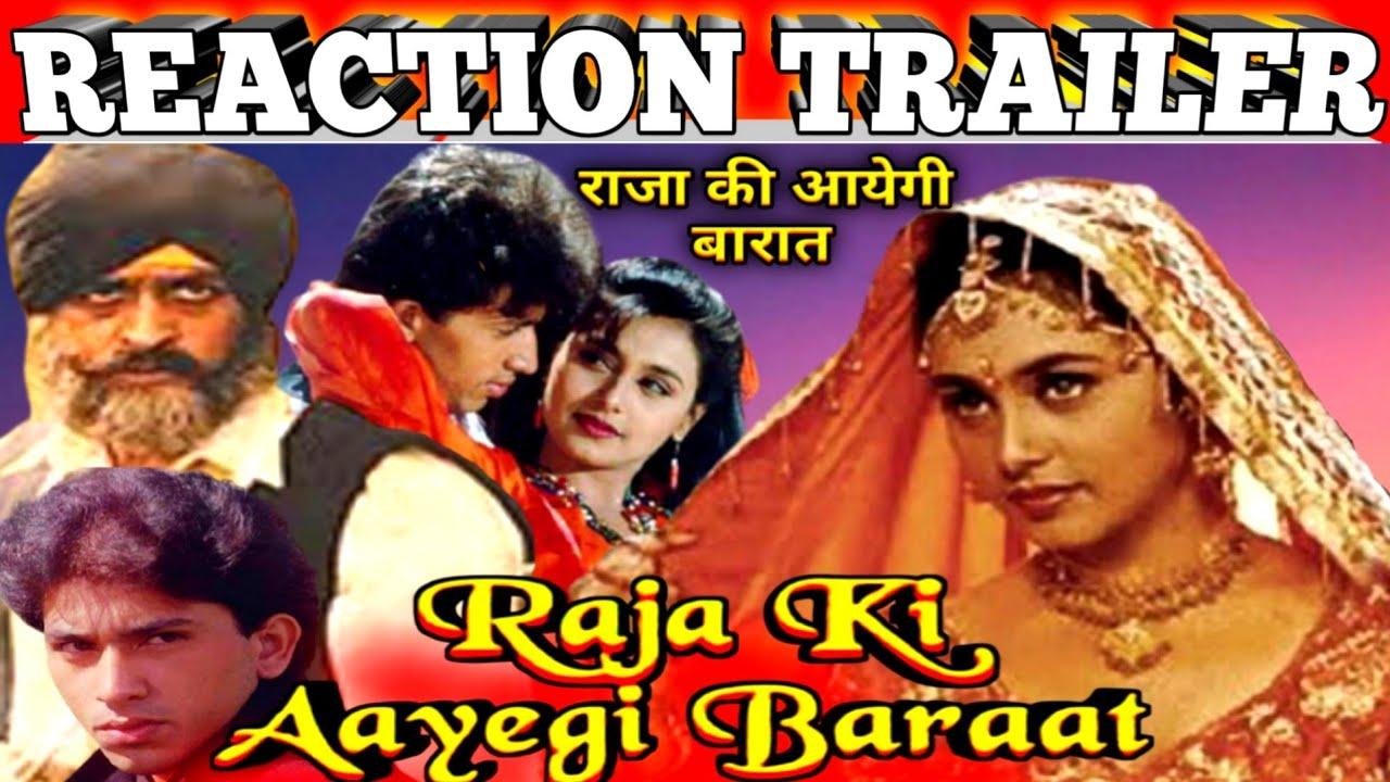 Download Raja Ki Aayegi Baraat 1996 Trailer With Reaction|Rani Mukerji|Shadaab Khan|Gulshan Grover