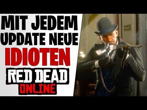 NEUES UPDATE NEUE IDIOTEN - Volltrottel In Red Dead Redemption 2 Online