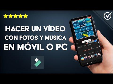 Cómo Hacer un Video con Fotos y Música en el Celular o PC Online, con o sin Programas