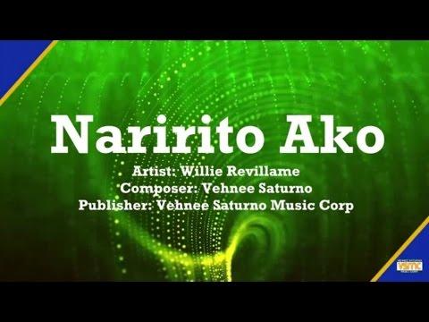 Willie Revillame - Naririto Ako (Lyric Video)