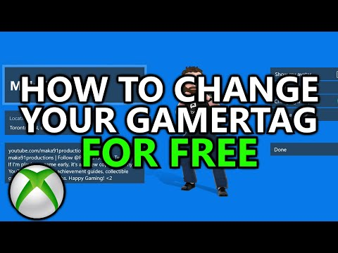 Xbox - Change Your Gamertag For FREE On Xbox Live And Xbox.com (How To)