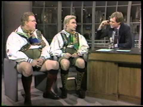 Late Night with David Letterman 1985 02 26 John Candy, Eugene Levy, Rocky Dellutri, Bryant Gumbel