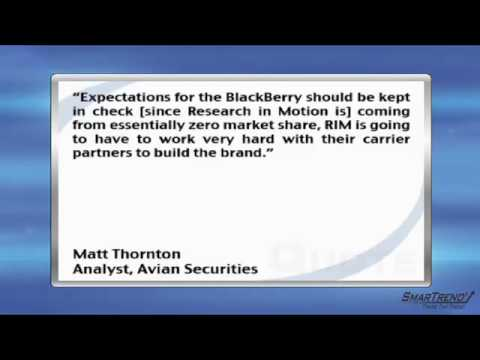 News Update: Research in Motion Ltd. to Offer BlackBerry Smartphones in Asia
