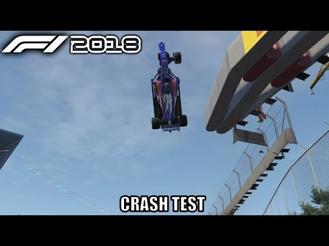 F1 2018 Crash Test |