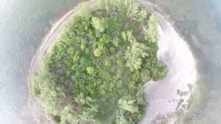 4,000 feet-ish to an Island | DJI Phantom 2 Vision PLUS (P2V+)