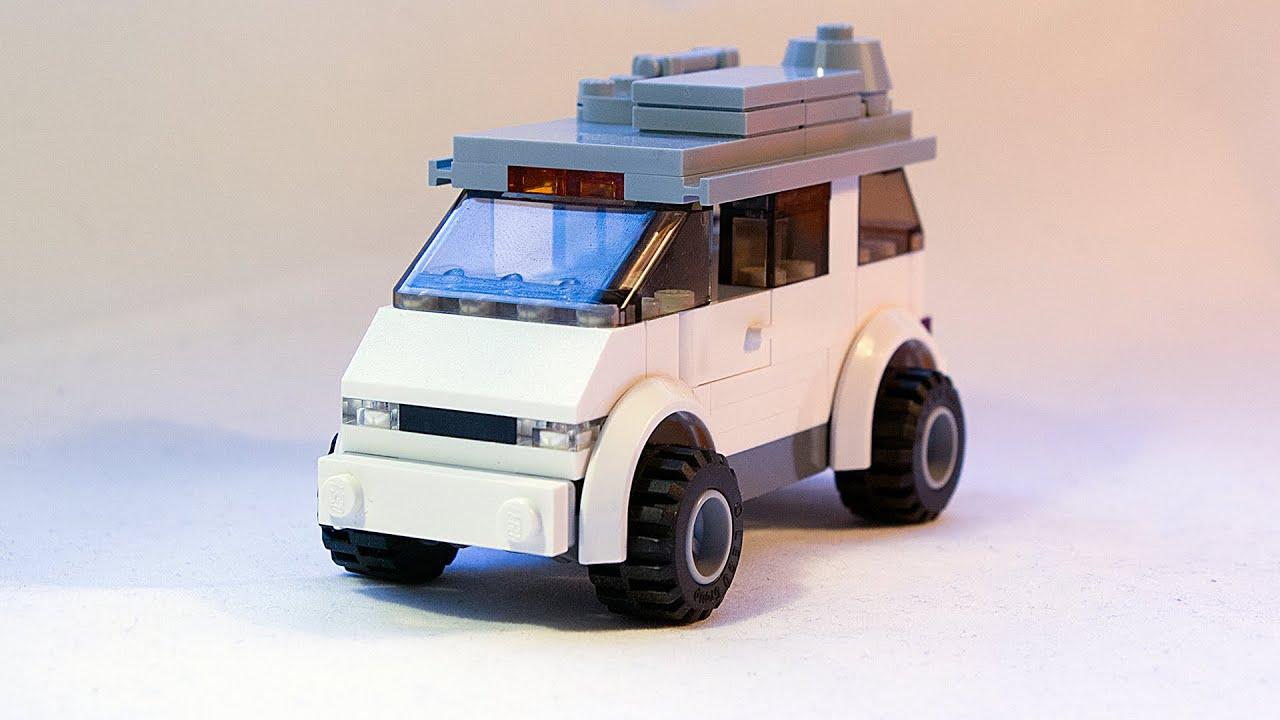 Lego City Camper Van Moc Building Instructions Youtube