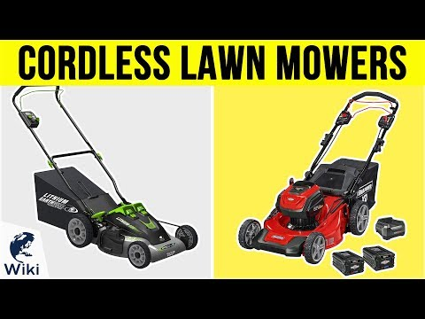 10 Best Cordless Lawn Mowers 2019