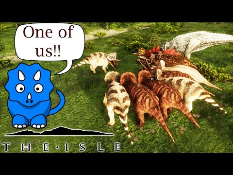 THE ISLE | TRIKE HERD!!! | ONE. OF. US!!
