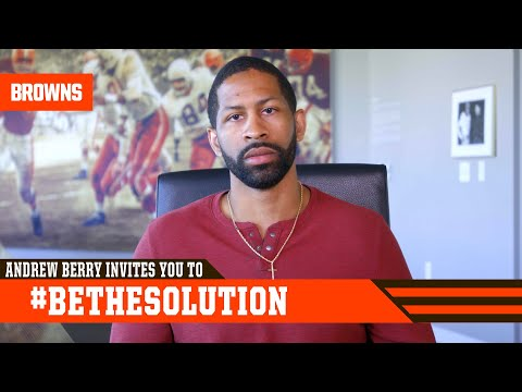 Andrew Berry invites you to #BeTheSolution