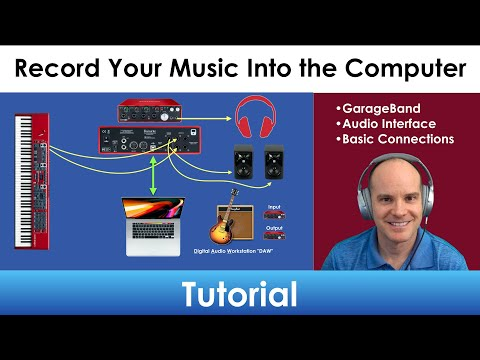 Record Your Nord Keyboard Into The Computer | GarageBand And Focusrite