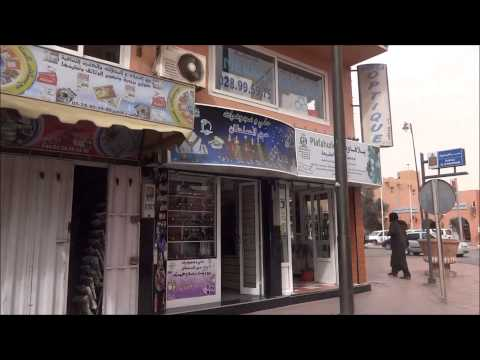 Western Sahara: Walking in Laayoune (El Aaiun)  西サハラ:ラユーン(アイ