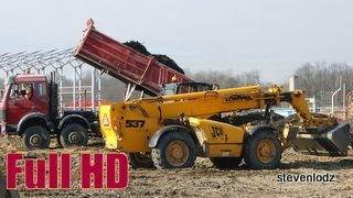 Bagger ☆ Excavators ☆ Koparki ☆ รถขุด ☆ Wielkie budowy Łodzi
