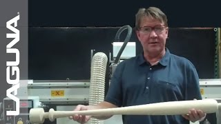 Woodworking - Laguna Tools - Baseball Bat Turner