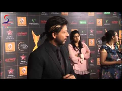Dashing Shahrukh Khan Caught at Star Guild Awards
