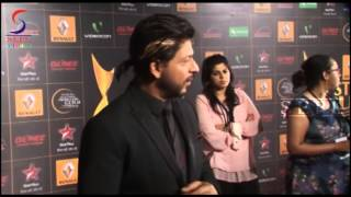 Dashing Shahrukh Khan Caught at Star Guild Awards