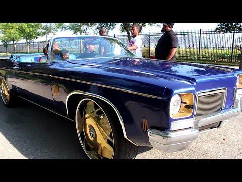 """Veltboy314 - '72 Oldsmobile Delta Vert 88 On 26"""" DUB Floaters - 2K17 Stunna Jam Car Show"""