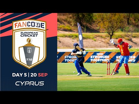 🔴 FanCode European Cricket T10 Cyprus,  Limassol | Day 5 T10 Live Cricket