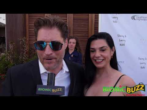 Sean Kanan Interview at George Lopez Celebrity Golf Classic Pre-Party
