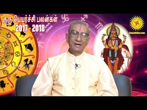 Guru peyarchi palangal 2017 | குரு பெயர்ச்சி பலன்கள் 2017 | by Astrologer Kaliyur Narayanan