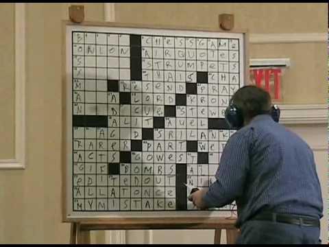 """Crossword Puzzle Tournament 2010 """"B"""" Final Pt 2"""