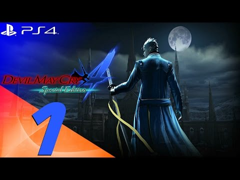 Devil May Cry 4 Special Edition - Vergil Walkthrough Part 1 - Prologue & Berial [1080p 60fps]