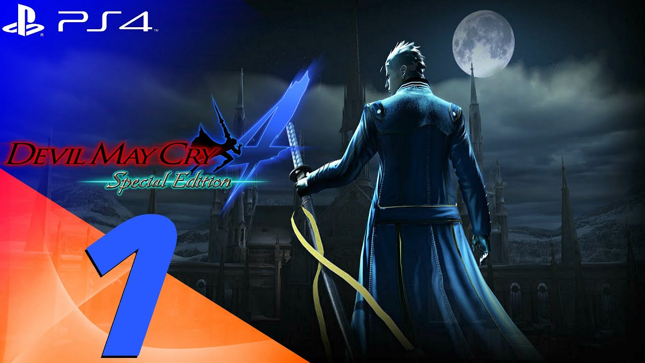 Devil May Cry 4 Special Edition Vergil Walkthrough Part 1