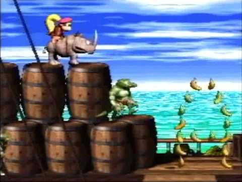 Donkey Kong Country 2 - 102% Walkthrough, Part 1 - Pirate Panic